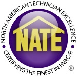 For your Furnace repair in Lawrence KS, trust a NATE certified contractor.